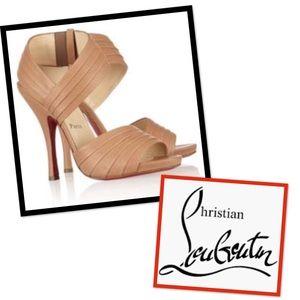 Authentic Christian Louboutin Pour Lili 120 Sandal